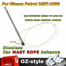 Auto Power Aerial Antenna Mast With Rope For Nissan Patrol GQ Y60 Y61 1987-1999