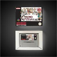 Chrono Trigger - EUR pal Version SNES SUPER NINTENDO BOX