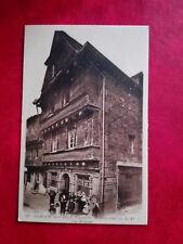 Carhaix - Vieilles maisons du XVè - Rue Brizeux - Singer - 29 - Finistère