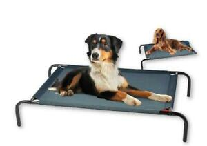 Elevated Dog Pet Cot Bed Portable Outdoor Indoor Waterproof Raised Camping New