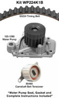 Engine Timing Belt Kit with Water Pump-Water Pump Kit w/o Seals Dayco WP224K1B