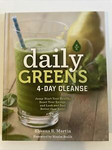 Daily Greens 4-Day Cleanse Shauna R. Martin Juice Cleanse Meal Plans Free Post