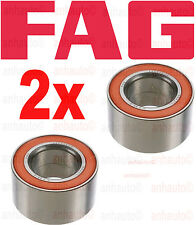 Set  of 2 OEM FAG Brand  Rear Wheel Bearing BMW Porsche