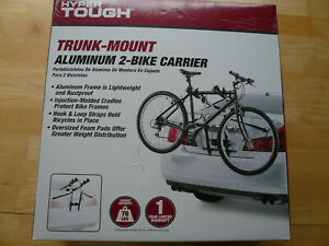Hyper Tough 2-bike trunk-mount aluminum 2-bike carrier   NEW