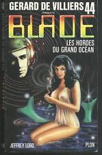 Blade n° 44.Les Hordes du grand océan   .Science Fiction  SF18