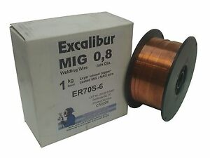 1mm 0.7kg MIG Welding Wire ER70S-6 Mild Steel MIG Wire Free Delivery! Not 1kg