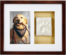 Pearhead Dog Or Cat Paw Prints Pet Wall Frame With Clay Imprint Kit, Perfect Kee