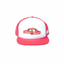 OFFICIAL FALLOUT 4 - NUKA WORLD TRUCKER RED SNAPBACK CAP (BRAND NEW)
