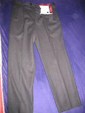 Pantaloni Lanificio di Tollegno Super 100 Pura Lana Vergine Woolmark