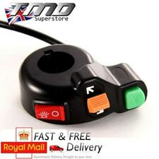 Motorcycle Universal Handlebar Control Switch Light Horn Indicator Bar ATV Quad