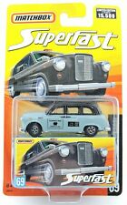 Matchbox SuperFast #69 London Taxi limited edition 1 of 15,500 austin fx4 NEW uk