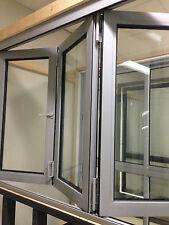 BIFOLD WINDOW | ALUMINIUM - DOUBLE GLAZED - 1200h x 1810w
