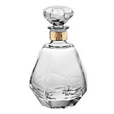 Vista Alegre Crystal Gemstone Whisky Decanter With Gold