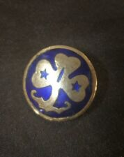 Rare  Girl Guides enamel pin back badge