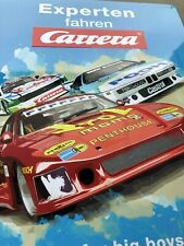 Carrera Metal Sign from Set Drm 30002 Retro Race 50 x 40 cm New