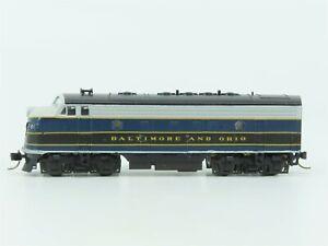 N Scale KATO 176-090 B&O Baltimore & Ohio F7A Diesel Locomotive #281 Custom