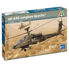 ITALERI British Army AH-64D Longbow Apache 2748 1:48 Helicopter Model Kit