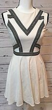Bebe Women's Sleeveless White Party Dress, Size Small, PRICE DROP!!!