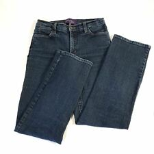 Not Your Daughter's Jeans Womens Straight Leg Jeans Blue Size 6P W.28 Inseam 29