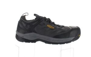 KEEN Mens Flint 2 Sport Forged Iron/Black Safety Shoes Size 11 (1702613)