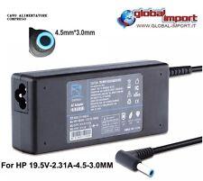 Alimentatore caricabatteria compatibile per HP 19,5V - 2,31A - 4,5*3,0mm