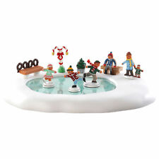 Lemax Village Collection Christmas Decor Gift Accessory Gingerbread Skating Pond