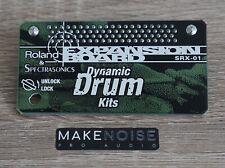 Roland SRX-01 Dynamic Drum Kits Expansion Board - Fantom XV XV5080 XV3080 SRX01