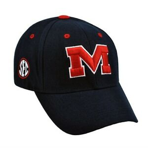 Ole Miss Rebels NCAA TOW Triple Conference Adjustable Hat