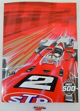 New Official Program 2019 IndyCar GP Indianapolis 500 Starting Line-Up Insert