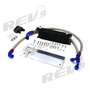Rev9 Power 19 Row Bolt On Upgrade Oil Cooler Kit Cadillac CTS-V 04-06 New