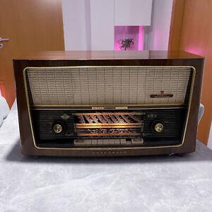 Vintage Röhrenradio Nordmende Tannhäuser voll funktionsfähig - Made in Germany