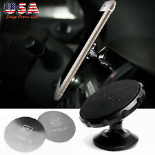 Universal 360° Magnetic Bracket Car Auto Cell Phone Mount GPS Holder Pad Stand