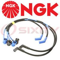 Fits ZE 02 8156 1986-1991 Mazda RX-7 1.3L R2 Spark Plug Wire Set NGK ZE02