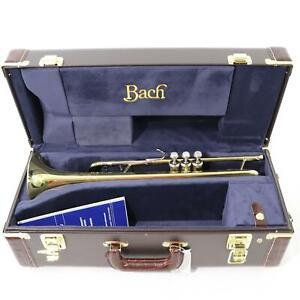 Bach Model 18072 Stradivarius Professional Bb Trumpet SN 769171 OPEN BOX