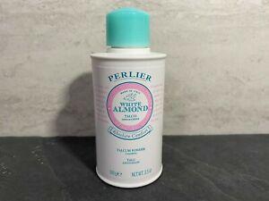 Perlier - White Almond Calming Perfumed Talcum Powder - 3.5oz Full Size Nwob #KJ