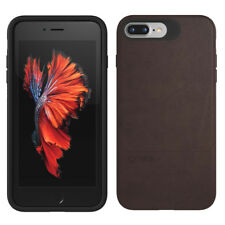 iPhone 7 Plus Case Gear4 Black - Mayfair Brown With D3o Genuine