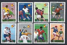 CONGO ZAIRE 1981 MiNr: 722 - 729 ** SOCCER WORLD CUP SPAIN