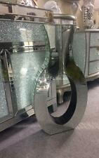 ART DECO MIROIR Floor Standing Vase, miroir séché Fleur Vase