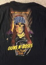 Guns N Roses Forum 11/29 Show Official Tshirt Xl Size Los Angeles Axl Rose