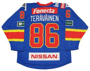 Teuvo Teravainen Hurricanes Jokerit Hockey Jersey DK L