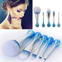 5PCS Kabuki Make up Brushes Set Makeup Foundation Blusher Face Powder Brush##