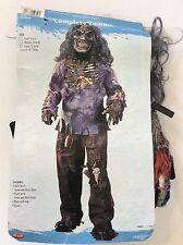 Complete Child's Halloween Zombie Costume Large (12-14)