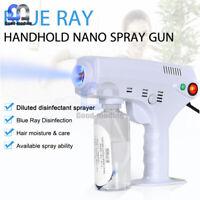 260ML Blue Light Nano Steam Atomizing Fogger Disinfection Sprayer Gun 1200W 220V