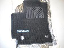 2014 Toyota Corolla Carpet Floor Mats, 4pc  Black W/Blue, M/T, PT206-02143-28