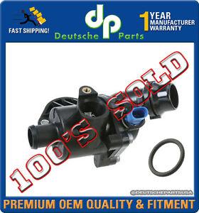 AUDI A4 & A4 QUATTRO 1.8L ENGINE COOLANT THERMOSTAT ASSEMBLY + GASKET 06B121111K