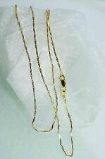 50 cm HALSKETTE GOLDKETTE 750 GOLD 18 KT für SIE und IHN  NEU  besonderes Design
