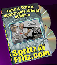 Lace and True A Motorcycle Wheel at Home - Two DVD Set