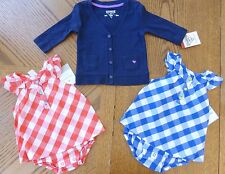 NEW 6 month baby Girl Summer clothes LOT $56 MSRP Carter's Sunsuit Osh Kosh NWT