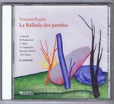 VINCENT PAULET CD NEW LA BALLADE DES PENDUS