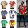 Mens Womens African Dashiki Shirts Dress Boho Hippie Kaftan Festive Clothing New